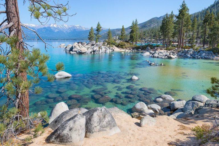 Lake Tahoe in the High Sierra region of California