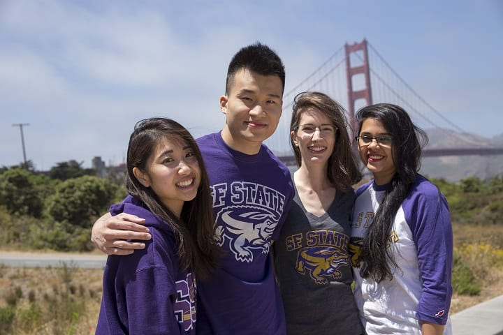 Students from San Francisco State University