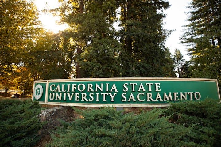 Sacramento State Trees